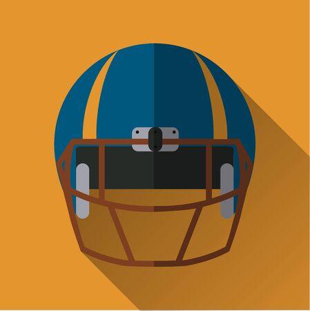 Helm Design football helm icon football helm flat design symbol