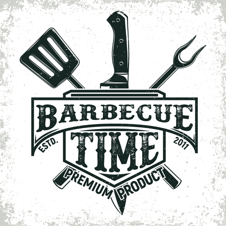 vintage logo design  イラスト・ベクター素材