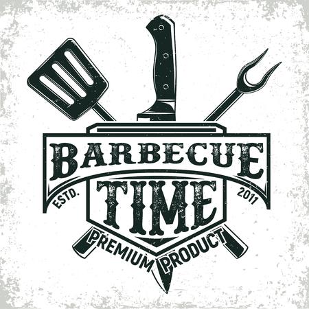 vintage logo design Stock Illustratie