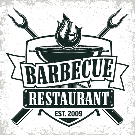 vintage logo design Ilustrace
