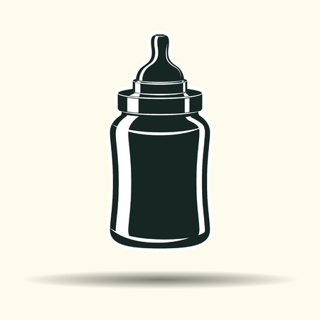 Baby bottle sign.