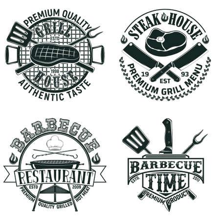 vintage gourmet design Stock Illustratie