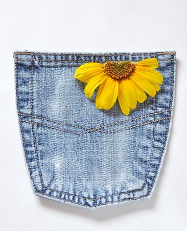 pocket jeans photo