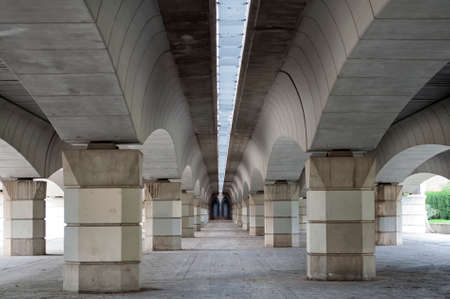 taken: Under the bridge in the old dry river bede bridge