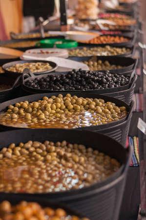 olives on market Stock fotó