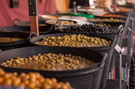 olives on market Stock fotó - 85122181