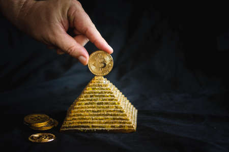 bitcoin on top of the pyramid