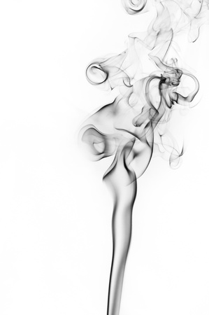 homogeneous: Smoke on the homogeneous background.