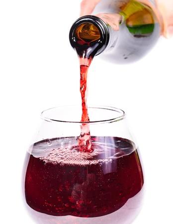 bottle of wine. Isolated on white background Stock Photo - 11397561