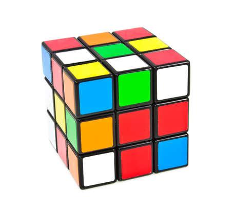 Rubiks Cube Stock Photo