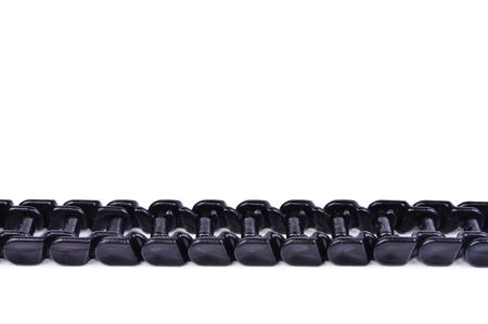 Plastic chain. Photos isolated on white background Stock Photo - 12682831