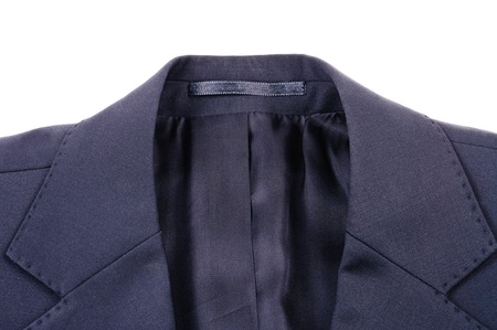 Jacket of the business suit. Photo Close-up photo