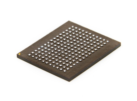 Processor in BGA package Stock Photo - 13210713