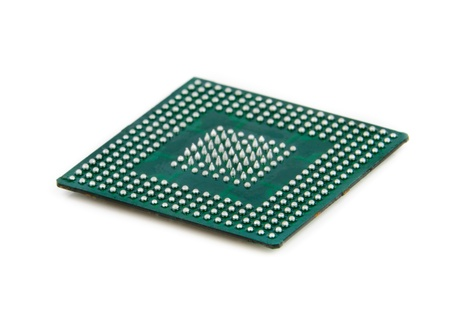 Processor in BGA package  Stock Photo - 13210778