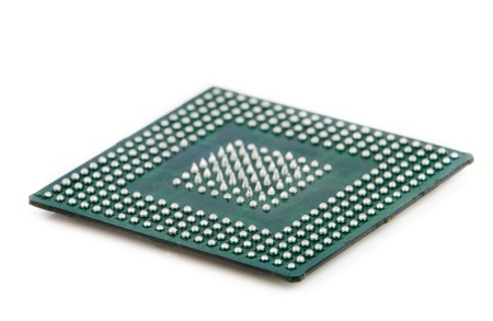 Processor in BGA package Stock Photo - 13210804