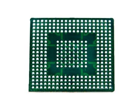 Processor in BGA package Stock Photo - 13210803