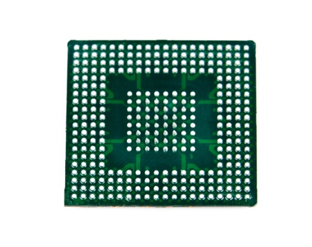 Processor in BGA package Stock Photo - 13210803