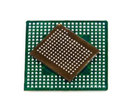 Processor in BGA package   Stock Photo - 13210805