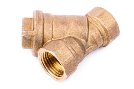 Fittings for water pipes.  Standard-Bild
