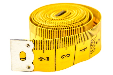 Flexible meter roll. Photo Close-up Stock Photo