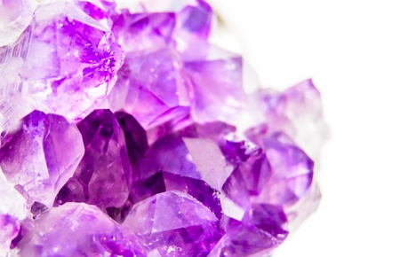 Natural amethyst photo