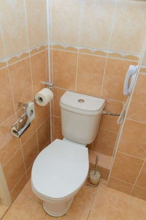 Toilet in the bathroom. Stock Photo - 19198681
