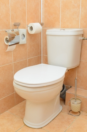 Toilet in the bathroom. Stock Photo - 19198664