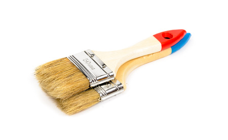 Tools for painting houses. Microstock photography for over a white background