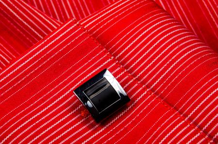 cufflinks: Cufflinks shirt sleeve. Photo for microstock