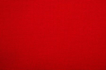 hilo rojo: La textura de la color de la tela. Macro foto de microstock