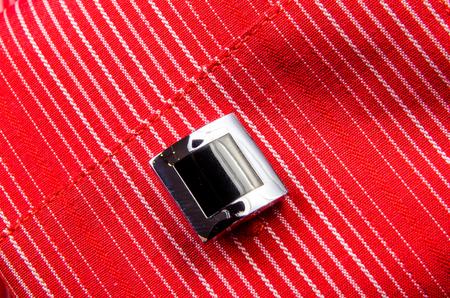 wrist cuffs: Cufflinks shirt sleeve. Photo for microstock