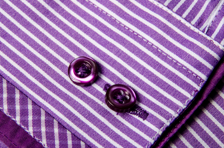Buttons sleeve shirt. Macro photo for microstock