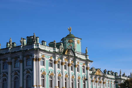 View from Neva rivers. Saints-Petersburg