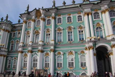 view from the river Neva to the winter palace . Saints-Petersburg Editorial
