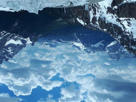 mountain view. Dolomite alps