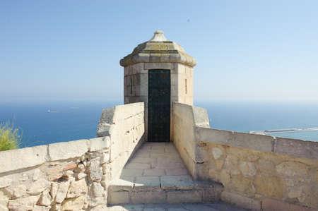 Watchtower and Meiterranean sea, Alicante