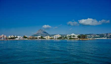 View over the resort town of Javea, Costa Blanca