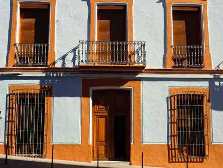 exterior of a mediterranean house