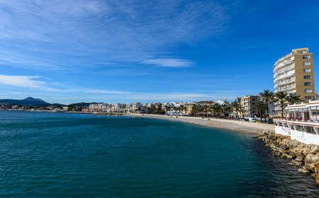 La Grava beach in Javea, Spain.