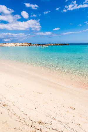 Els Pujols beach in Formentera island, Mediterranean sea, Spain Stock Photo - 19362502