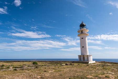 Formentera La Mola lighthouse balearic islands mediterranean Sea