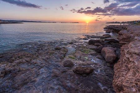Ibiza sunset on San Antonio