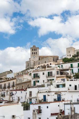 Old city of Ibiza - Eivissa. Spain, Balearic islands