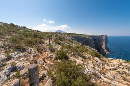 Morro de Codina in Javea, Spain Stock Photo