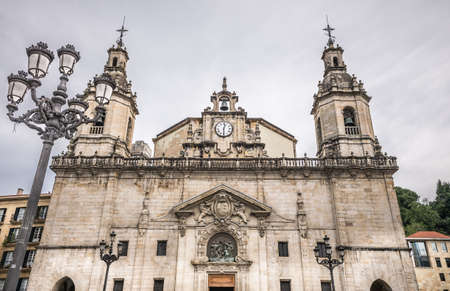 San Nicolas Church in Bilbao, Spain photo