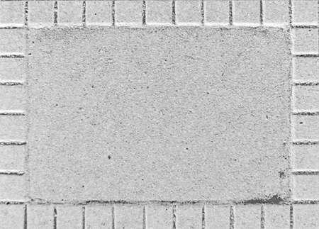 White stone photo frame
