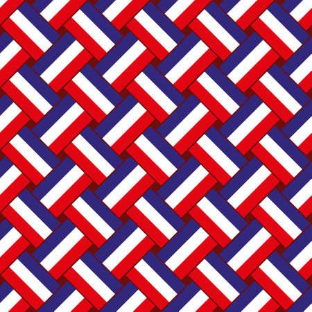 Naadloze abstract patroon Stock Illustratie