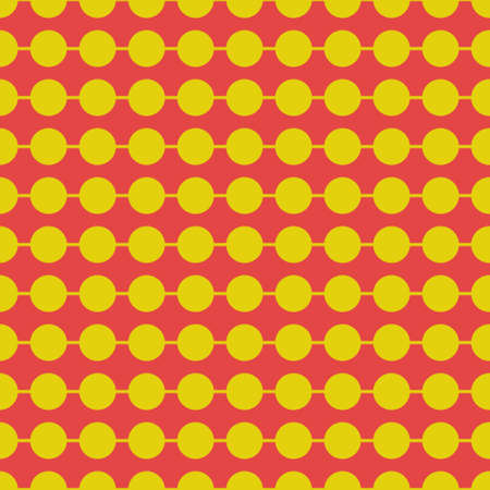 pattern made with color dots Vector