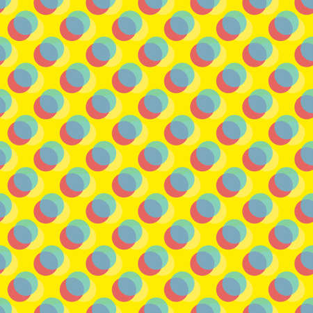 pattern made with different color dots Vector