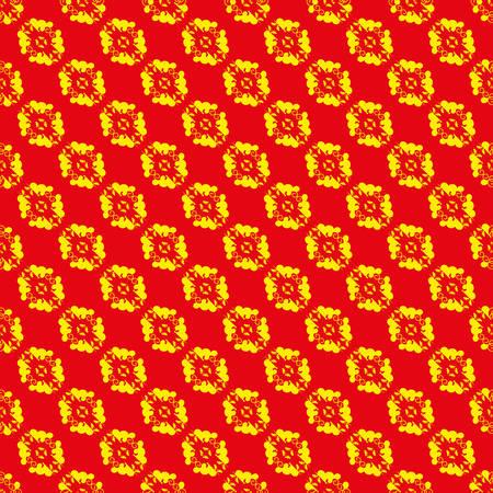 Heraldic style vector pattern Illustration
